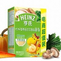 移动专享: Heinz 亨氏 优加营养西兰花香菇面条 336g