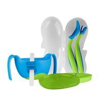 b.box 婴儿三合一碗+ 叉勺套装