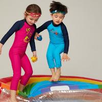 Speedo/速比涛长袖秋冬款儿童保暖连体游泳衣
