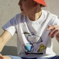 Levi's 李维斯 x Peanuts® 2020夏季联名系列 16143-0080 男士圆领T恤