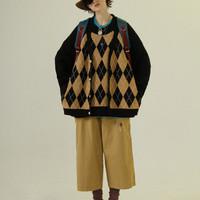 UNVESNO CT-2030 女士复古毛衣