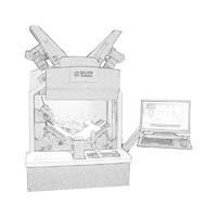 汉王(Hanvon)EbookScan G3全自动书刊案卷扫描 书籍成册扫描仪卷宗档案数字化A3幅面