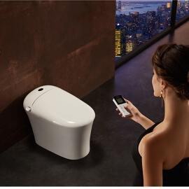ANNWA 安华卫浴  智能一体式自动冲洗电动马桶