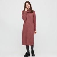 UNIQLO 优衣库 429451 女装两翻领连衣裙