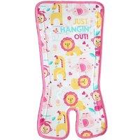 費雪(Fisher-Price) 寶寶凝膠清涼墊冰墊嬰兒車兒童推車安全座椅涼席墊