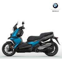 寶馬BMW C400X 摩托車 蒼穹藍