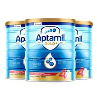 Aptamil 爱他美 婴幼儿奶粉 4段 900克 *4件