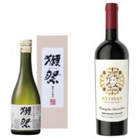 獭祭 纯米大吟酿清酒 45° 300ml+阿提山千面干红葡萄酒  750ml