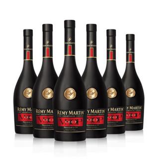 40度法国 人头马V.S.O.P优质香槟区干邑白兰地700ml 6支装