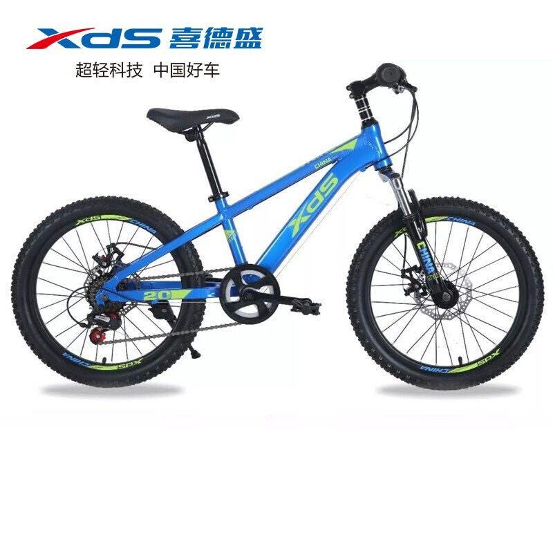 XDS 喜德盛 20寸 儿童碟刹变速山地车自行车