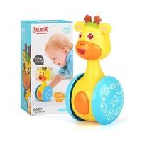 源乐堡 可爱形象萌宠鹿小星滑行不倒翁婴儿玩具
