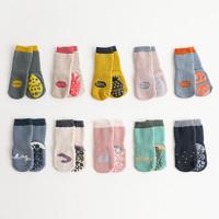 班杰威尔 加厚宝宝袜防滑中筒婴儿袜 *3件