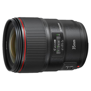 Canon 佳能 EF 35mm F1.4 USM 广角定焦镜头 佳能EF卡口