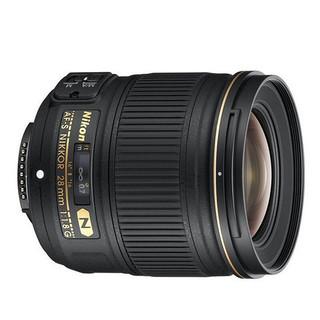 Nikon 尼康 AF-S 28mm F1.8G 广角定焦镜头 尼康F卡口 67mm