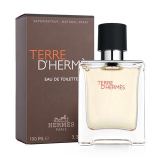 HERMÈS 爱马仕 Hermes/爱马仕法国HERMES爱马仕大地男士经典中性淡香水树木100ml