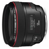 Canon 佳能 EF 50mm F1.2L USM 标准定焦镜头 佳能EF卡口 72mm