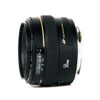 Canon 佳能 EF 50mm F1.4 USM 标准定焦镜头 佳能EF卡口 58mm