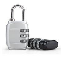 密码锁金属箱包锁健身房行李旅行箱密码锁迷你背包锁