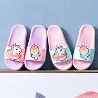 卡通夏天兒童涼拖鞋女男童寶寶浴室洗澡防滑軟底幼兒家居拖鞋