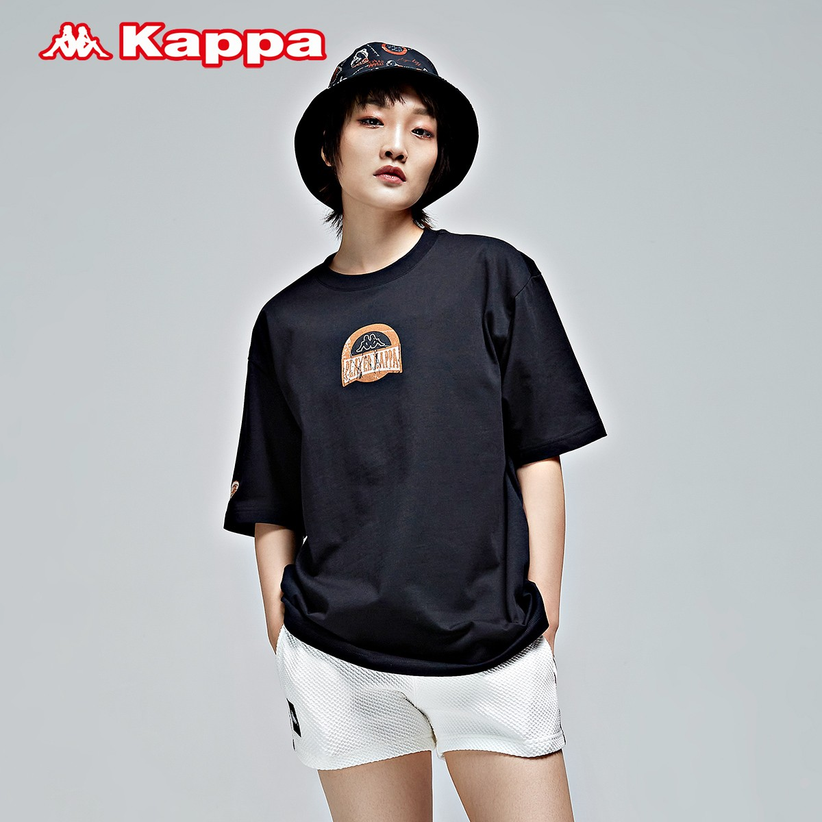 Kappa 卡帕 玩家系列 K0BX2TD16D 男女运动T恤