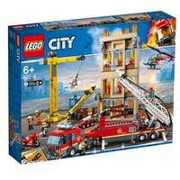 限地区:LEGO 乐高 城市系列 60216 城市消防救援队