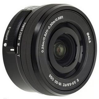 SONY 索尼 E PZ 16-50mm F3.5 OSS 标准变焦镜头 索尼E卡口 40.5mm