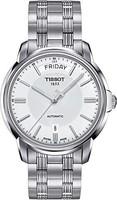 Tissot 天梭 T-Classic 自动 III 日间日期白色表盘男式手表 T065.930.11.031.00