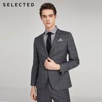 SELECTED 思莱德 42015X509 男士商务西服外套