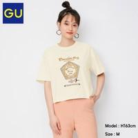 GU 极优 GU 333344 哈利波特联名款 女士印花短袖T恤