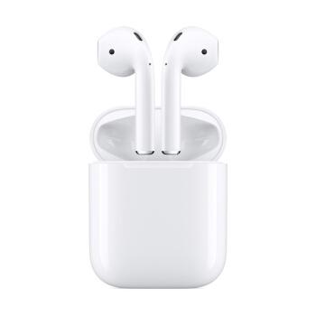 Apple 苹果 AirPods一代 半入耳式 真无线蓝牙耳机 有线充电 白色