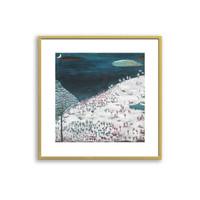买买艺术 韩修智《早来的雪》艺术版画
