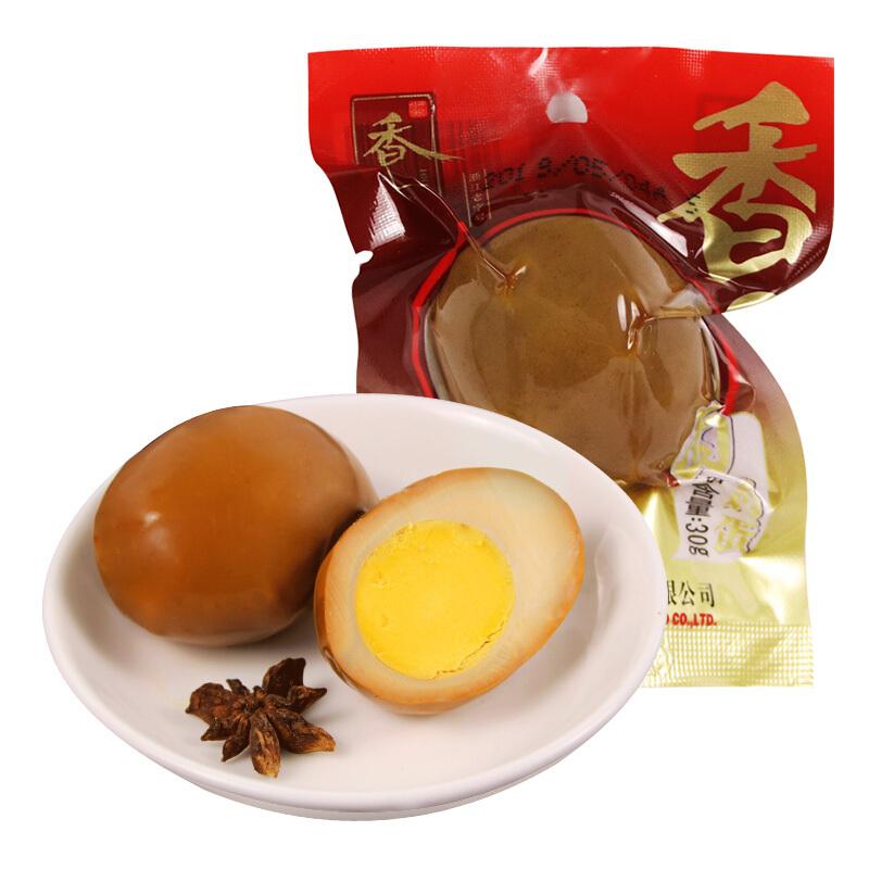 香巴佬蛋制品卤蛋30g*10只休闲零食泡面伴侣