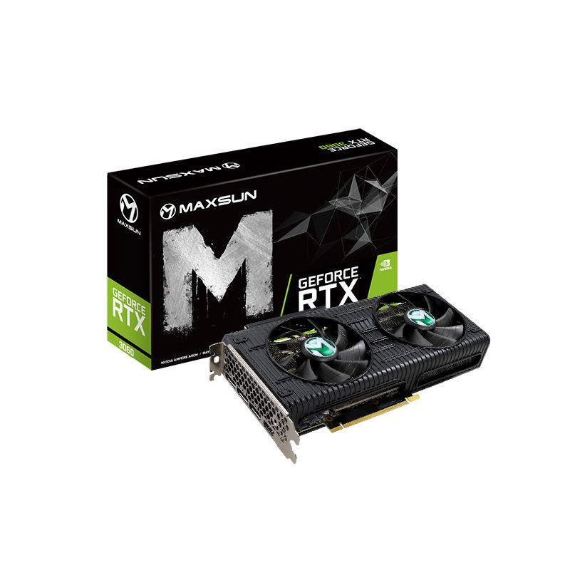 MAXSUN 铭瑄 GeForce RTX3060 Turbo 12G T0 显卡
