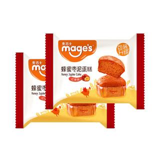 mage's 麦吉士 蜂蜜枣泥蛋糕 红枣味 58g