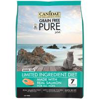 有券的上:CANIDAE 卡比 天然无谷三文鱼鸡肉猫粮 10磅/4.5kg