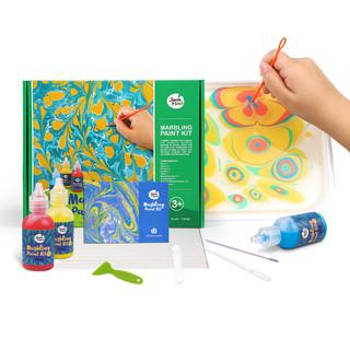 京东PLUS会员 : Joan Miro 美乐 儿童浮水绘画 水拓画颜料套装 水影画套装JM09401