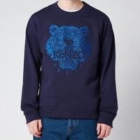 KENZO 男士老虎经典运动衫-藏青色