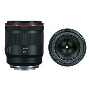 Canon 佳能 RF 50mm F1.8 STM 标准定焦镜头 佳能RF卡口 77mm