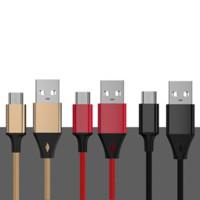 奈卡思 安卓数据线 1m 3种颜色随机发货