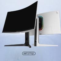 ANTGAMER 螞蟻電競 ANT27TQC 27英寸顯示器(2K、144Hz)白色