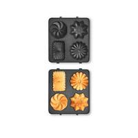 大宇 三明治早餐机多功能便携式电饼铛配件单片饼干烤盘