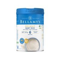 Bellamy's 贝拉米 宝宝高铁米粉 225g