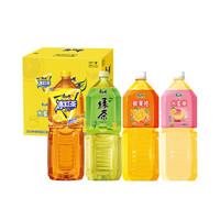 康师傅 限量款混合定制包装2L*6瓶 柠檬茶饮品果汁饮料 *7件