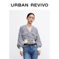 URBAN REVIVO WH04S1EE2000 女士寬松型夾克外套