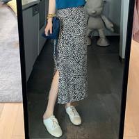 飘莉芬 女士豹纹半身裙 M-XL
