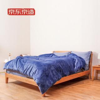 京东京造 宝宝绒被 200x230cm 6.6斤 超柔磨毛 红外反射保暖技术