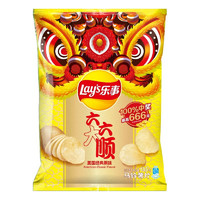 Lay's 乐事 六六大顺 薯片 原味 135g