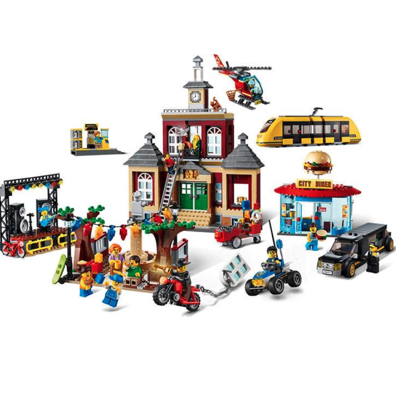 LEGO 乐高 City城市系列 60271 中央广场