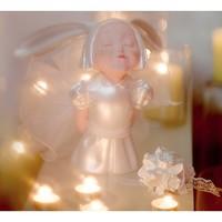 艺术品:稀奇艺术&时尚新娘合作款《我看到了幸福-誓言》装饰永生花摆件