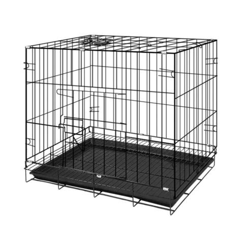 CHONGLEGUAI 宠乐乖 狗笼猫笼 狗笼子中小型犬幼犬加粗加密折叠便携宠物笼具